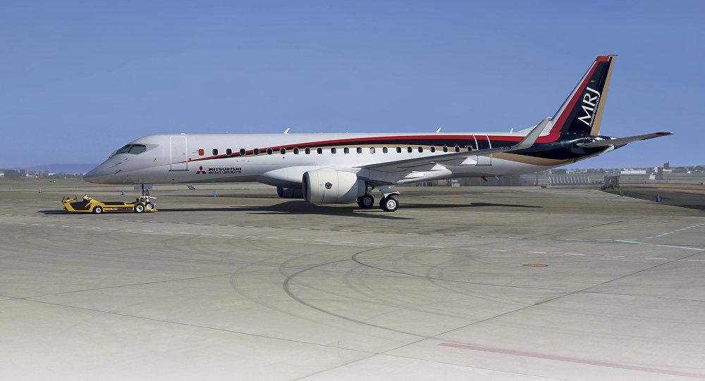 Самолёт Mitsubishi изЯпонии вСША отправился виспытательный полёт через Россию