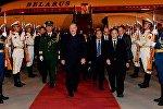Аляксандр Лукашэнка прыбыў з візітам у Кітай