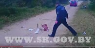 СК опубликовал видео с места убийства бизнесмена из Витебска