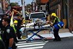 Пострадавшая в железнодорожной аварии в Нью-Джерси