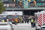 Ж/д авария в Нью-Джерси