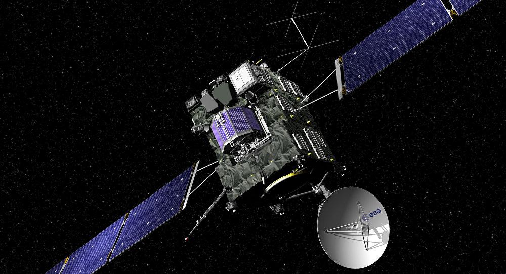 Зонд Rosetta приближается кповерхности кометы Чурюмова-Герасименко