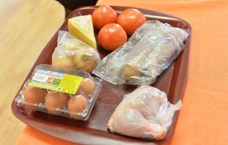 Базовый набор продуктов для кулинарного конкурса общежитий БГУ