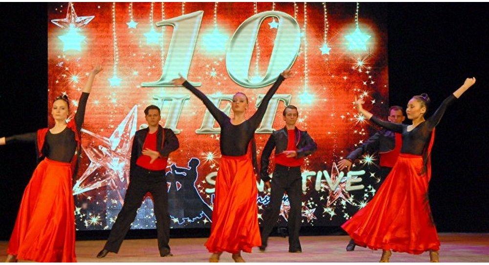 Танец танго музыка
