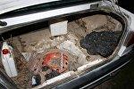 Жителя Каменецкого района привезли домой в багажнике