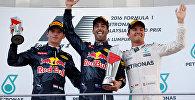 Тройка призеров Гран-при Малайзии