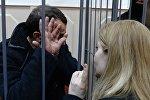 Подозреваемые в убийстве Б.Немцова доставлены в Басманный суд