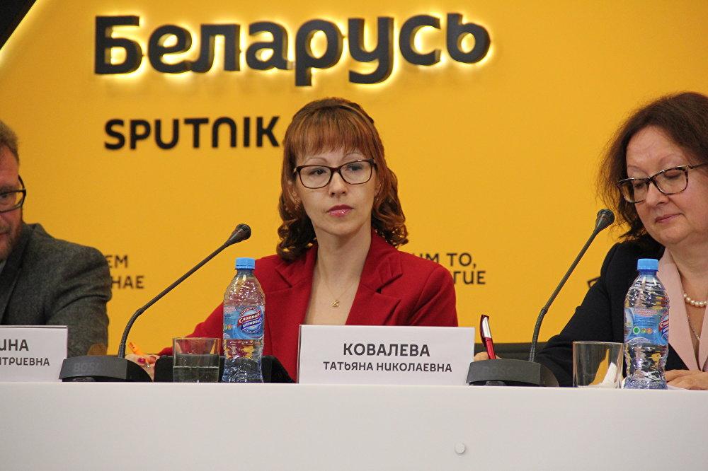 Заместитель генерального директора Национального академического Большого театра оперы и балета Республики Беларусь Светлана Казюлина