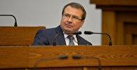 Міністр фінансаў Беларусі Уладзімір Амарын на адкрыцці сесіі парламента