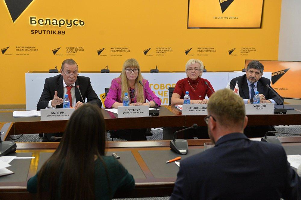Пресс-конференция на тему борьбы с торговлей людьми и трудовым рабством