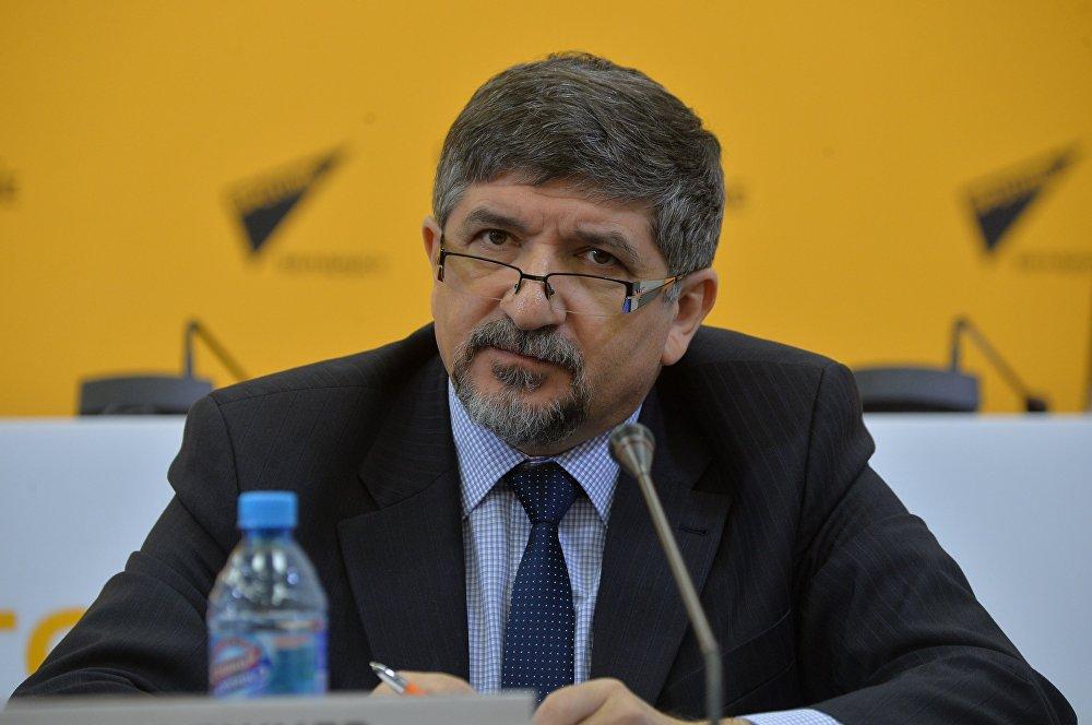 Глава Представительства Международной организации по миграции (МОМ) в Республике Беларусь Зейнал Гаджиев