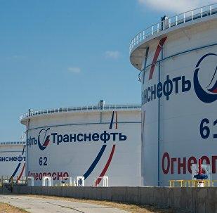 Нефтеперекачивающая станции, архивное фото