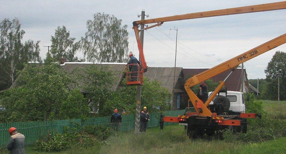 29 населенных пунктов остались без света вМинской области