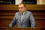 Министр жилищно-коммунального хозяйства Александр Терехов