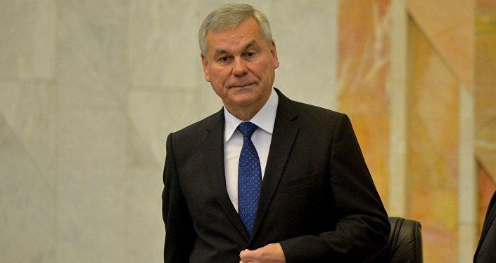 Александр Лукашенко встретился спредставителем ПАСЕ Андреа Ригони