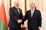 Президент Беларуси Александр Лукашенко и премьер-министр Пакистана Наваз Шариф