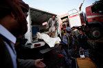 Жертвы авиаудара по траурной церемонии в Йемене