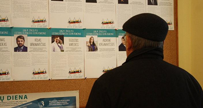 ВЛитве проходит 2-ой тур парламентских выборов