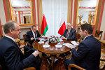 Владимир Макей на встрече с Витольдом Ващиковским