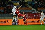 Момент матча Беларусь - Люксембург