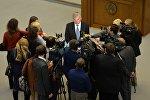 Владимир Андрейченко и журналисты