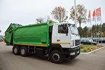 Крупногабаритный мусоровоз МАЗа