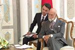 Принц Кентский на встрече с президентом Республики Беларусь