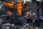 Атака на деревню под Луганском