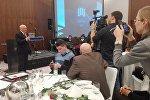 Старшыня СбП Барыс Пятровіч на ўручэнні прэміі
