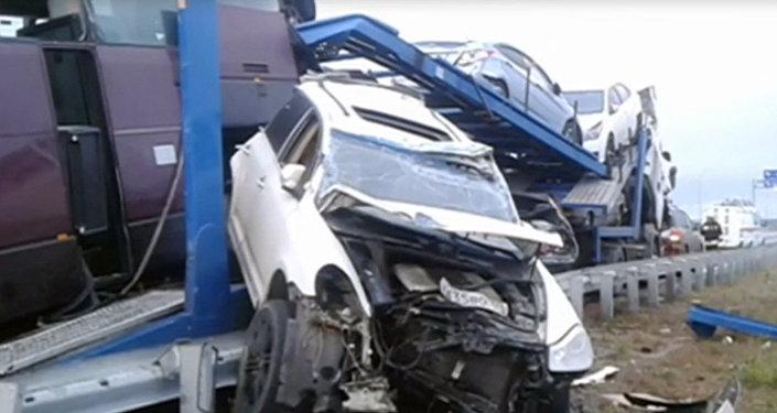 ВДТП под Бесланом погибли три жителя Ростовской области