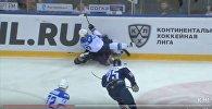 Кадр из видео матча Металлург - Барыс
