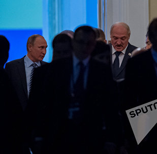 Владимир Путин и Александр Лукашенко на заседании Совета коллективной безопасности ОДКБ стартовала в Ереване