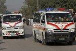 Медицинские автомобили в Пакистане, архивное фото