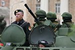 Арсений Павлов (Моторола) во время репетиции военного парада в Донецке, архивное фото