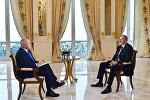 Ильхам Алиев ответил на вопросы Дмитрия Киселева