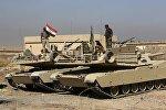 Сирийские танки возле Мосула