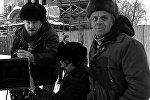 Режиссер Виктор Туров со съемочной группой