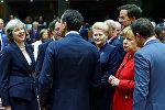Главы стран ЕС на саммите в Брюсселе