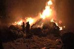 Пожар на предприятии в Гродно