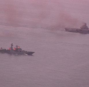 Норвежский фрегат проводил Адмирала Кузнецова через Ла-Манш