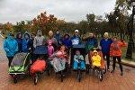 Команда Крылья Ангелов готовится к Сочинскому марафону