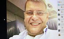 Журналист Армен Мартиросян, из-за которого Киев развернул самолет Белавиа