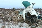 Спутник_Кадры с места крушения Ми-8 авиакомпании Сокол в Ямало-Ненецком АО