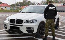 Угнанный в России BMW