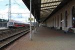 Железнодорожный вокзал Вильнюса. Архивное фото.