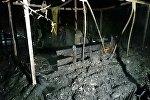 Последствия пожара в Молодечненском районе
