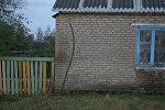 Дом, в котором была убита почтальон