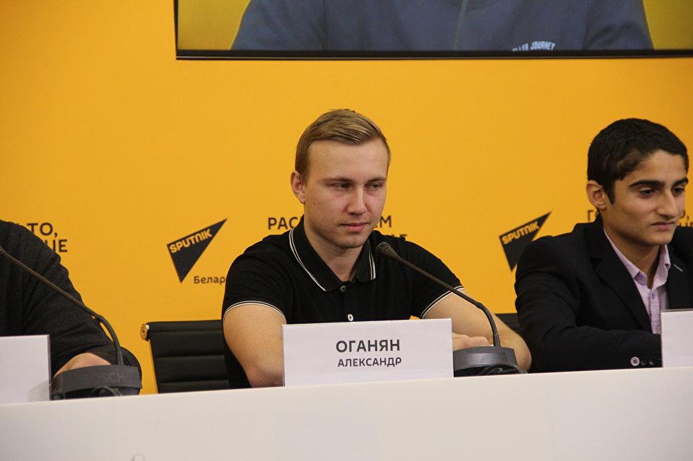 Ассистент капитана команды Александр Оганян
