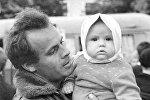 Виктор Туров с дочерью Еленой