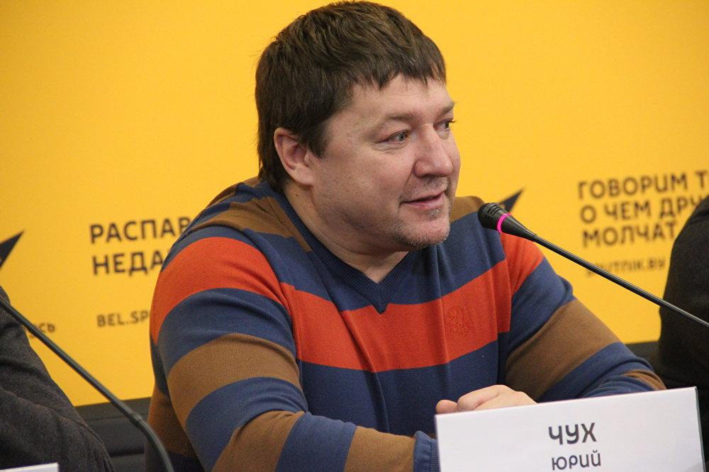 Главный тренер команды Юрий Чух